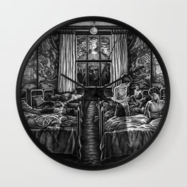 Awakening (Concept Sketch) Wall Clock