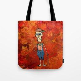 Old farmer Tote Bag