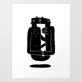 Razor blade Art Print