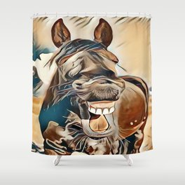 Laughing Jack Shower Curtain