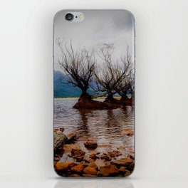 Glenorchy Willow Trees iPhone Skin