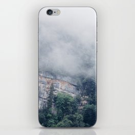 Among the Swiss Clouds iPhone Skin