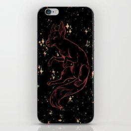 the wild pup iPhone Skin