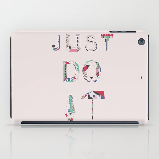 JUST DO IT  iPad Case