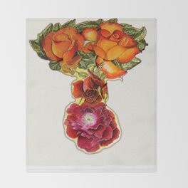 Roses 4 YOU Throw Blanket