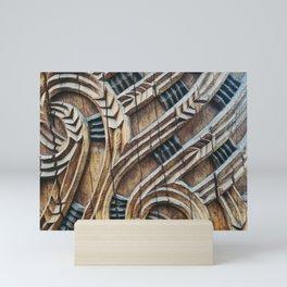 A Maori Carving Mini Art Print