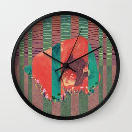 Trapped inside Wall Clock