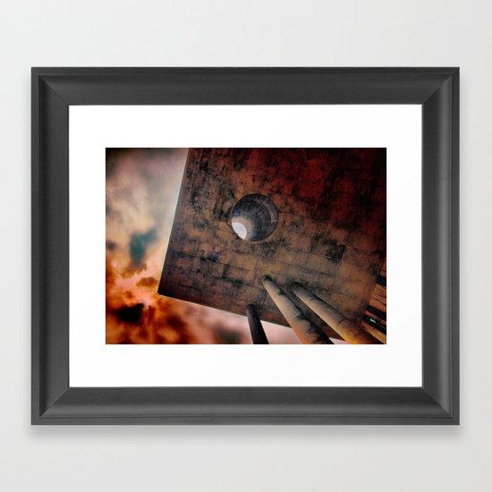 Hells' portal Framed Art Print