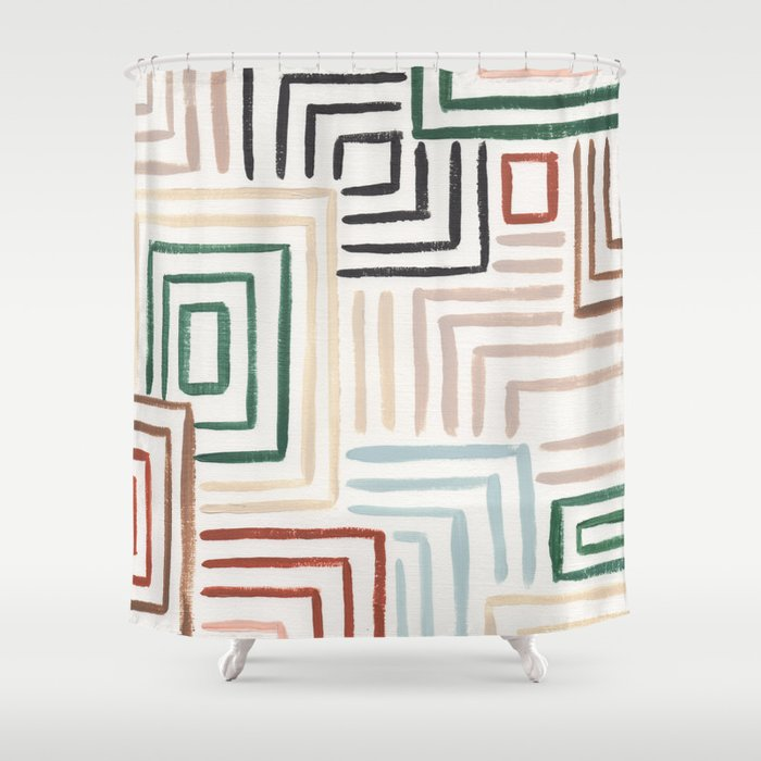 Maize Shower Curtain