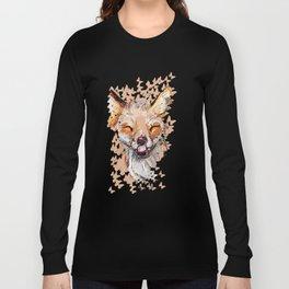 Happy Fox Long Sleeve T-shirt