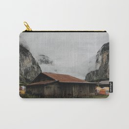 Camping Grounds of Lauterbrunnen, Switzerland Carry-All Pouch