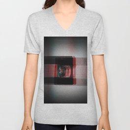 Video Distortion Unisex V-Neck