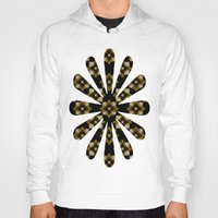 floral pattern Hoodies featuring Floral Pattern by Christina Rollo