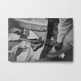 india 02 Metal Print