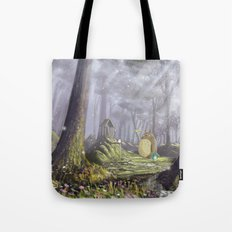 Totoro's Forest Tote Bag