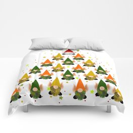 Merry Gnoming Christmas Comforters