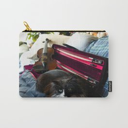 The Cat and the Fiddle (Gracie Queen of Chicago Collection) Carry-All Pouch