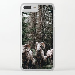 Rams / Canada Clear iPhone Case