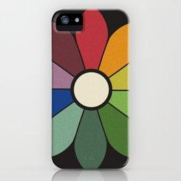 James Ward's Chromatic Circle iPhone Case