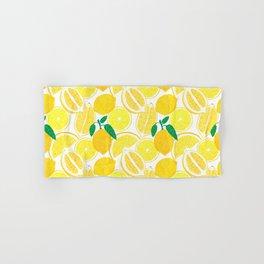 Lemon Harvest Hand & Bath Towel
