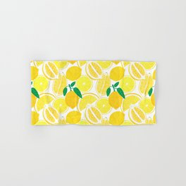 Lemon Harvest Hand & Bath Towel