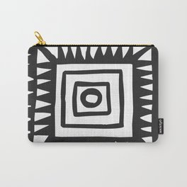 Tribal Print B&W- 02 Carry-All Pouch