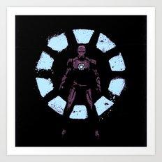iron man reactor Art Print