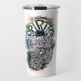 Spirits in My Head Travel Mug