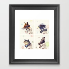 Star Team - Legends of Lylat Framed Art Print