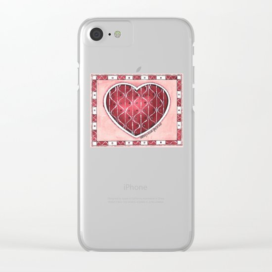 Confetti Clear iPhone Case