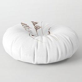 Sea Oats Floor Pillow