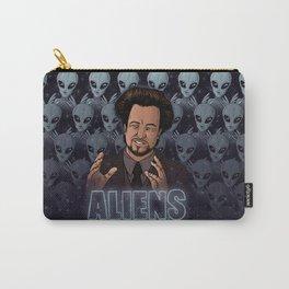 Aliens Guy (Giorgio Tsoukalos) Color Carry-All Pouch
