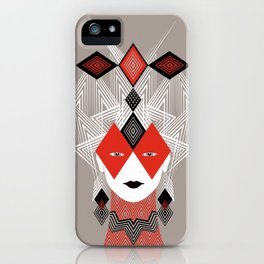 The Queen of diamonds iPhone Case