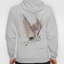 Heart Winged Owl Hoody
