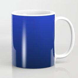 Deep Blue to Black Gradient Coffee Mug