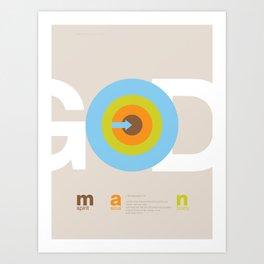 God in man Art Print