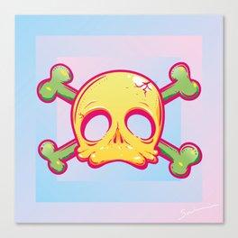 Baby Skull Canvas Print