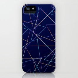 Holographic Lines iPhone Case