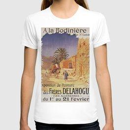 Affiche Expo Delahogue Bodinière 1908 T-shirt
