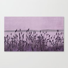 Purple Nature by the sea  Canvas Print