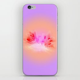 Lily in the Clouds iPhone Skin