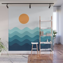 Abstract Landcape 14 Portrait Wall Mural