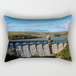 Craig Goch Dam Rectangular Pillow
