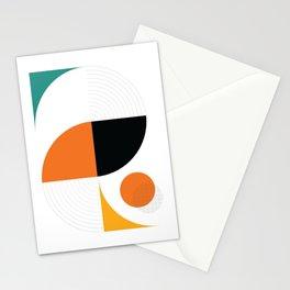 Mid Century Modern Retro Stationery Cards