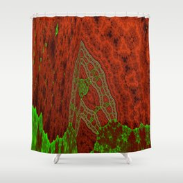 gene Shower Curtain