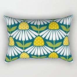 the daisies greet you Rectangular Pillow
