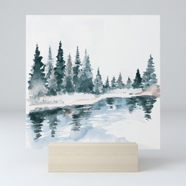 Mountain River Mini Art Print