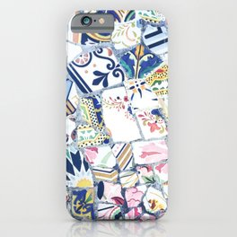 Gaudi Park Guell Mosaic iPhone Case