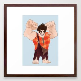 Wreck it Ralph! Framed Art Print
