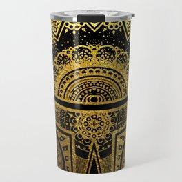 Mandala BobaFett - Gold Foil Travel Mug